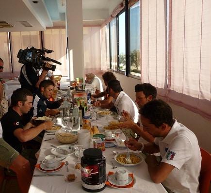 La Farnese a colazione